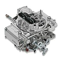 Holley Carburetor 600 CFM Street Warrior V8 Engine Manual Choke Polished Vacuum Secondaries 4160