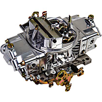 Holley Carburetor 650 CFM Aluminum Double Pumper Manual Choke Mechanical Secondaries 4150