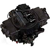 0-86570HB Carburetor 570 CFM Ultra Street Avenger Electric Choke Vacuum Secondaries 4150 Billet Color Black Gray Finish