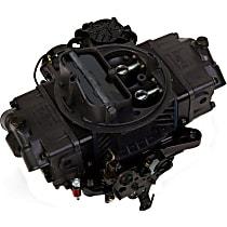 Carburetor 570 CFM Ultra Street Avenger Electric Choke Vacuum Secondaries 4150 Billet Color Black Gray Finish