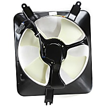 OE Replacement A/C Condenser Fan - Fits 4cyl Driver Side