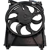 A/C Condenser Fan - Driver Side