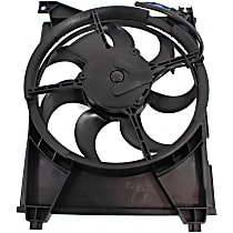 OE Replacement A/C Condenser Fan - Driver Side