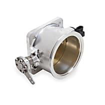Holley EFI Mono Blade 112-590 Throttle Body, 105 mm, Aluminum, V-Band Style, Sold Individually