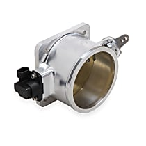 112-591 EFI Mono Blade Throttle Body, 105 mm, Aluminum, Dual O-Ring, Sold Individually