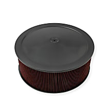 120-4260 Air Cleaner Assembly - Black, Stamped steel, Universal, Sold individually