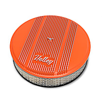 120-126 Air Cleaner Assembly - Orange, Steel, Universal, Sold individually