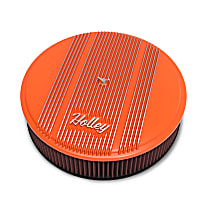 120-127 Air Cleaner Assembly - Orange, Steel, Universal, Sold individually