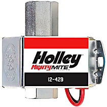 Holley Might Mite 12-429 Fuel Pump, New, 50 GPH, Electric, 12-15 PSI; Diesel, E85, and Gasoline