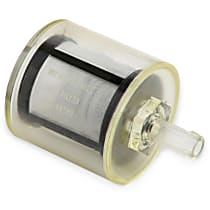 Holley Might Mite 12-431 Fuel Filter, 5/16 in. Barbed, 74 Micron