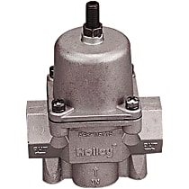 Holley Carburetor Bypass Style 12-704 Fuel Pressure Regulator, 4.5-9 psi, Natural, Gas, Alcohol, Non-Return, Sold Individually