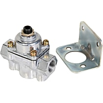 Holley Carburetor Bypass Style 12-803BP Fuel Pressure Regulator, 4.5-9 psi, Natural, Gas, Return, Sold Individually