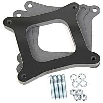 17-62 Carburetor Spacer - Black, Phenolic plastic, Universal