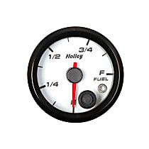 Holley 26-614W Fuel Gauge - Universal, Sold individually