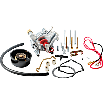 Holley 45-224S Choke Conversion Kit - Polished, Electric Choke, Universal