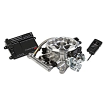 Holley 550-405 Fuel Injection Kit - Polished, Universal, Kit