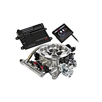 Holley 550-409 Fuel Injection Kit - Polished, Direct Fit, Kit