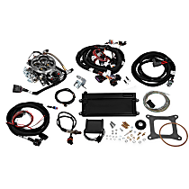 Holley 550-421 Fuel Injection Kit - Polished, Direct Fit, Kit
