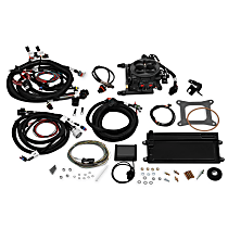 Holley 550-422 Fuel Injection Kit - Anodized gray, Direct Fit, Kit