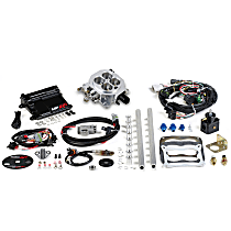 Fuel Injection Kit - Polished, Universal, Kit