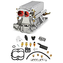 Holley 550-707 Fuel Injection Kit - Satin, Direct Fit, Kit