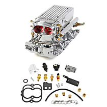 Holley 550-708 Fuel Injection Kit - Polished, Direct Fit, Kit