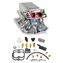 550-710 Fuel Injection Kit - Polished, Direct Fit, Kit