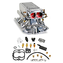 Holley 550-710 Fuel Injection Kit - Polished, Direct Fit, Kit