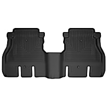 14041 Black Floor Mats, Second Row