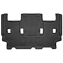 14321 Black Floor Mats, Third Row