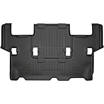 14371 Black Floor Mats, Third Row