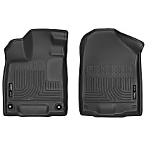 Custom Car Floor Mats for Honda Accord Ⅵ 1997-2003 All Weather Waterproof Non-Slip Full Covered Protection Advanced Performance Liners Car Liner Black
