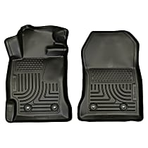 18831 Black Floor Mats, Front Row