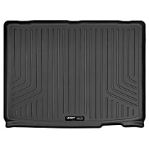20081 Weatherbeater Series Cargo Mat - Black, Rubberized/Thermoplastic, Molded Cargo Liner, Direct Fit, Sold individually