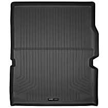 20421 Weatherbeater Series Cargo Mat - Black, Rubberized/Thermoplastic, Molded Cargo Liner, Direct Fit, Sold individually