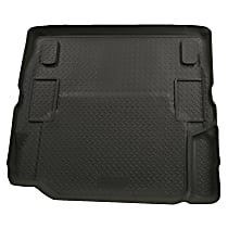 20521 Husky Liners Classic Style Cargo Mat - Black, Rubberized/Thermoplastic, Molded Cargo Liner, Direct Fit, Sold individually