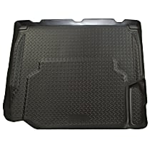 20531 Husky Liners Classic Style Cargo Mat - Black, Rubberized/Thermoplastic, Molded Cargo Liner, Direct Fit, Sold individually