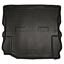 20541 Husky Liners Classic Style Cargo Mat - Black, Rubberized/Thermoplastic, Molded Cargo Liner, Direct Fit, Sold individually