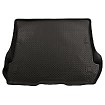 20611 Husky Liners Classic Style Cargo Mat - Black, Rubberized/Thermoplastic, Molded Cargo Liner, Direct Fit, Sold individually