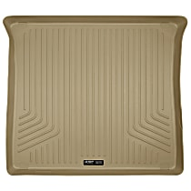 20623 Weatherbeater Series Cargo Mat - Tan, Rubberized/Thermoplastic, Molded Cargo Liner, Direct Fit, Sold individually
