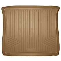 Husky Liners Weatherbeater 21143 Cargo Mat - Tan, Rubberized/Thermoplastic, Molded Cargo Liner, Direct Fit, Sold individually