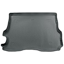 22002 Husky Liners Classic Style Cargo Mat - Gray, Rubberized/Thermoplastic, Molded Cargo Liner, Direct Fit, Sold individually