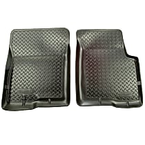 Black Floor Mats Front Row