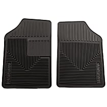 51051 Black Floor Mats, Front Row