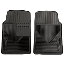 51061 Black Floor Mats, Front Row