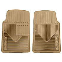 Tan Floor Mats, Front Row