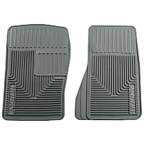 51072 Gray Floor Mats, Front Row