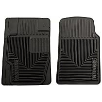 51111 Black Floor Mats, Front Row