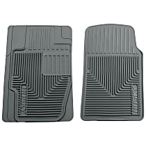 51112 Gray Floor Mats, Front Row