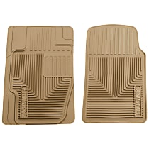 51113 Tan Floor Mats, Front Row